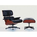 Eames Lounge Chair-black